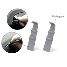 Ehdis 2 pçs matiz envoltório raspador de vinil do carro adesivo pintura 90 graus ângulo rodo janela filme instalar ferramentas remoção conjunto acessórios