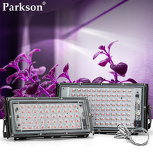 LED Grow Light AC 220V 50W 100W Phyto Lamp LED Full Spectrum Floodlight Indoor Plants Greenhouse Hydroponic Plant Spotlight