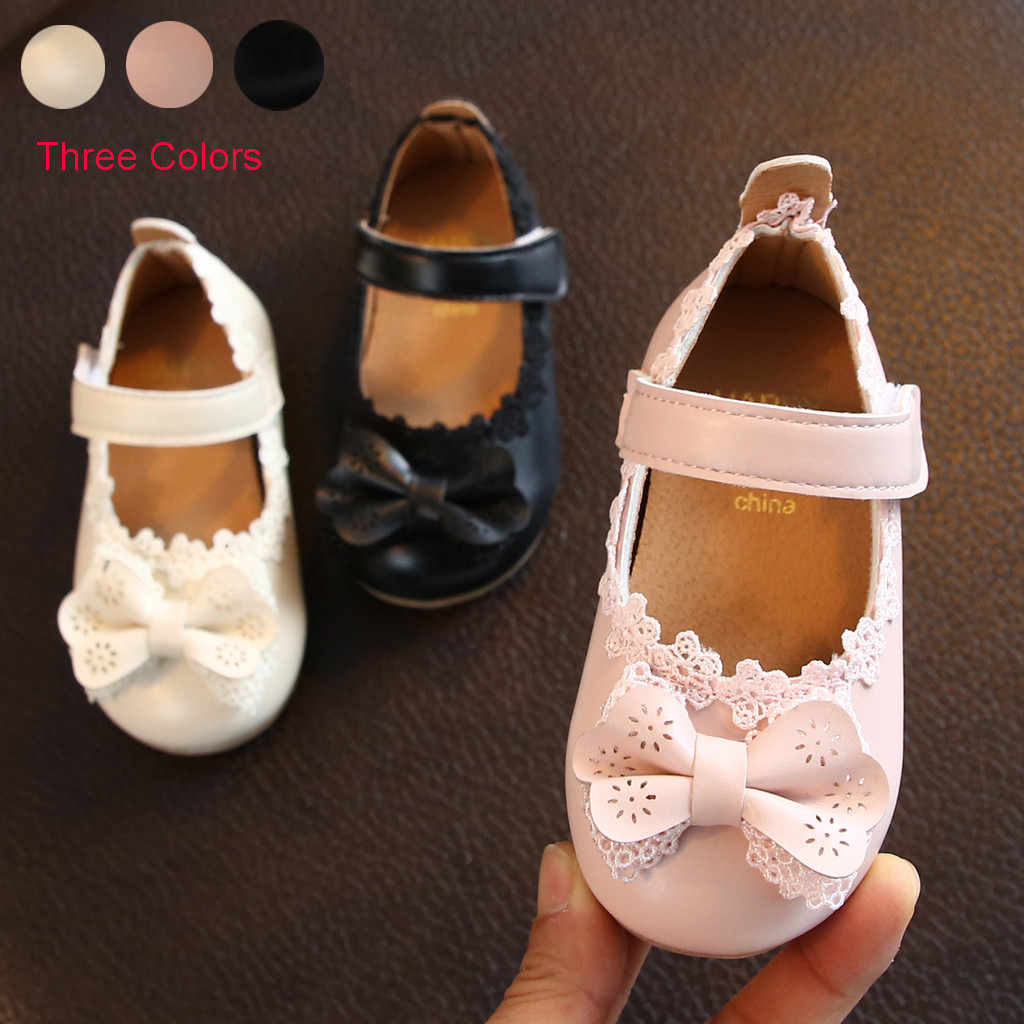 Baby Girls Princess Sandals Fashion Cute Bowknot Decor Shoes 2020 Summer New Toddler Sandals Infant Flowers Party Shoes Sandals