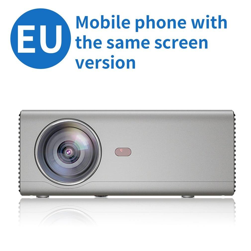 EU plus Rd825 projecteur Portable téléphone Mobile même écran intelligent Wifi maison projecteur LED Hd 1080P projecteur