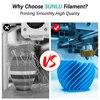 SUNLU PLA  PLA SPLA 3D Printer Filament 1 75mm 1KG PLA Metal Plastic Filament Material oversea warehouse fast ship Top Quality discount
