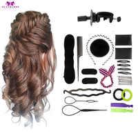 Salon Friseur Ausbildung Kopf für Friseure Mannequin Kopf Haar 60% Reale Natürliche Menschenhaar + Zubehör Set