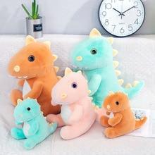 New Cute Cartoon Dinosaur Baby Plush Toy Stuffed Animal Doll Pillow Children Toys Girls Gift