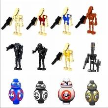 Legoing Star Wars наборы фигурок игрушечные фигурки героев K-2SO игрушка для детей кубики на тему «Звездные войны» супер фигурки R2D2 Legoings наборы техника