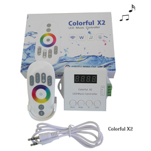 DC5 24V WS2812B WS2811 WS2813 6803 USC1903 IC dijital adreslenebilir LED şerit müzik denetleyicisi 1000 piksel renkli denetleyici