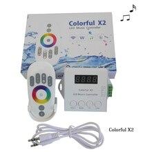 DC5 24V WS2812B WS2811 WS2813 6803 USC1903 IC شريط ليد ديجيتال قابل للتوجيه الصمام قطاع جهاز تحكم في الموسيقى 1000 بكسل الملونة تحكم