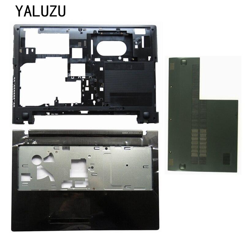 NEW Case Cover For LENOVO G500S G505S Palmrest COVER/Laptop Bottom Base Case Cove/RAM HDD Hard Drive Cover Door AP0YB000J20