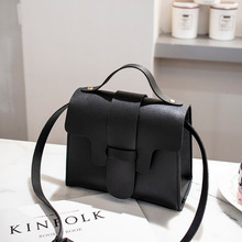 Casual Woman Bag Small Leather Crossbody Bag