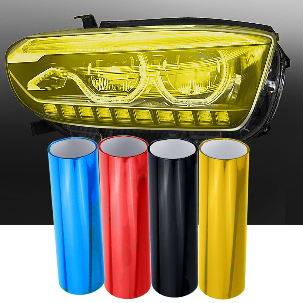 30cm X 60cm Auto Film Sheet Sticker Car Tint Headlight Taillight Fog Light Cover Car Styling