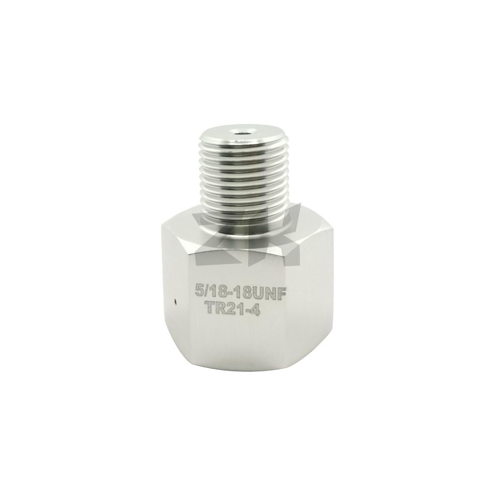 Co2 Thread Adapter Female TR 21*4 Sodastream Bottle To Male 5/8-18UNF Regulator For Aquarium Homebrew