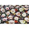 Черный красный хлопок вишневый цвет Бронзирующая ткань, бабочка кран Precut швейная ткань Лоскутная стеганая DIY японская ткань 7