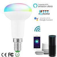 7W E14 WiFi Smart LED lampadina Wireless RGB cambia colore lampada controllo vocale lavora con Amazon Alexa Google Home App Control