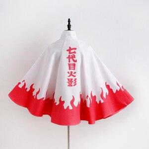 Image 5 - Anime Naruto Hokage Akatsuki Cosplay Costume Namikaze Minato Uchiha Itachi Sasuke Kakashi Cloak