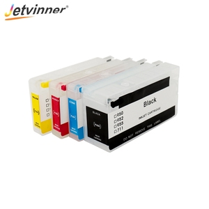 Jetvinner For HP950 951xl 950 951 Refillable Ink Cartridge for HP Officejet Pro 8100 8600 8610 8620 8630 8660 8615 8625 251dw