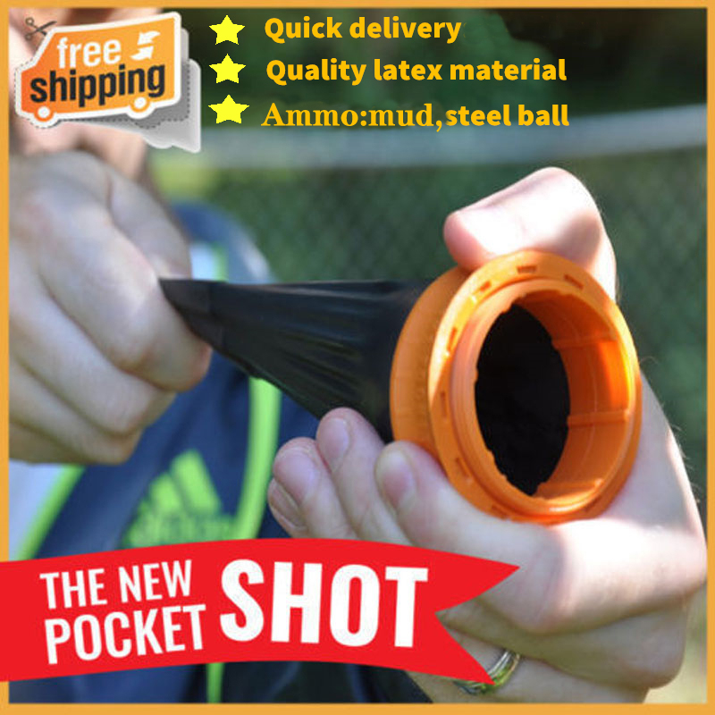 Aluminium Alloy Sling Catapult Self Defense GEAR Powerful Hunting Slingshot Pocket Cup Slingshot Arrow Cap Target Shooting Ammo
