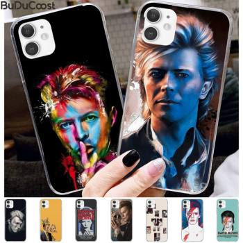 David Bowie Phone Case for iPhone 11 12 pro XS MAX 8 7 6 6S Plus X 5S SE 2020 XR cover image