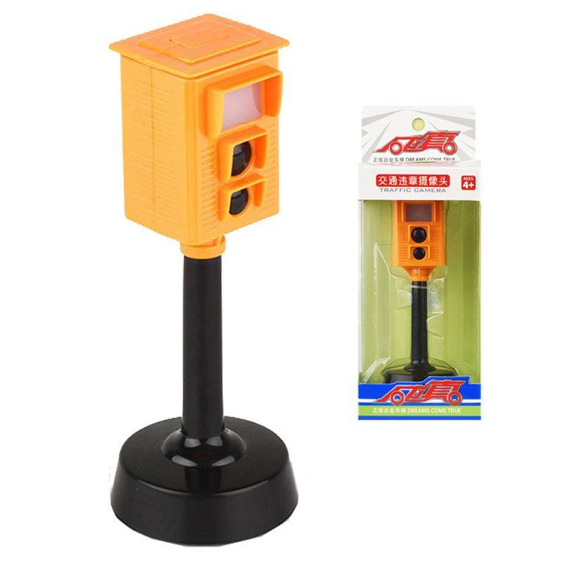 Analog Traffic Light Simulation Camera Sound And Lights Kids Early Education Toy C90B
