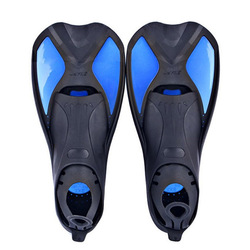 Professional Swimming Free Diving Fins Strap Snorkel for Adult Kids Children Swim Flippers Scuba Rubber Foot Heels Fins Long