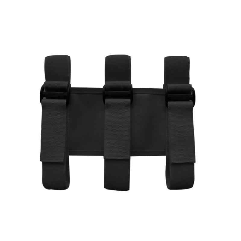 Organisateur de coffre de voiture support d'extincteur sangles de montage réglables ruban divers pour Jeep Wrangler 1987-2019 JK JL TJ CJ YJ