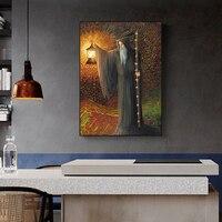 Geheimnis Hermit Tarot Bild Weihnachten Jesus Geschenke Leinwand Malerei Poster Und Drucke Wand Kunst Poster Für Wohnzimmer Wohnkultur