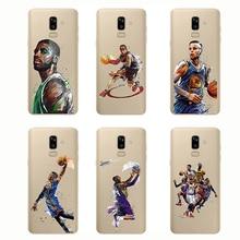 цены American style Basketball Phone Westbrook Curry Harden James Soft Silicone Sport Cover  for Samsung J8 J7 J6 Prime J5