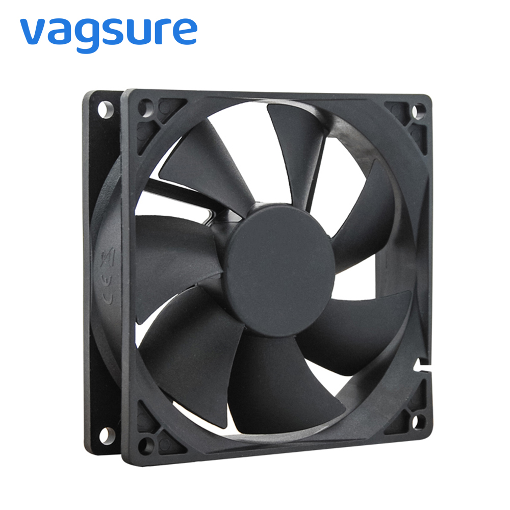 2pcs/lot DC 12V 9.2cm Black Vent Fan For Shower Controller Dedicated Fans Shower Room Accessories