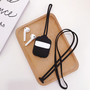Image 5 - Силиконовый чехол для AirPod Bluetooth покрытие для наушников Apple Air Pod защитный чехол Аксессуары для Apple Airpods зарядная коробка