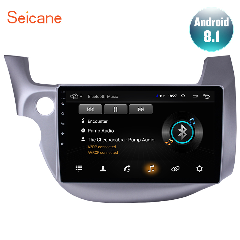 Seicane Multimedia Player Car-Radio Honda Fit 2din Android Gps Navigation Wifi 2008 2007