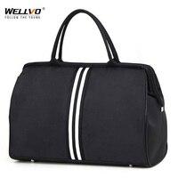 Koreanische Version Übernachtung Wochenende Reisen Tasche Handtasche Große Reisetasche licht Gepäck männer Faltbare Duffle Taschen 2021 XA637ZC