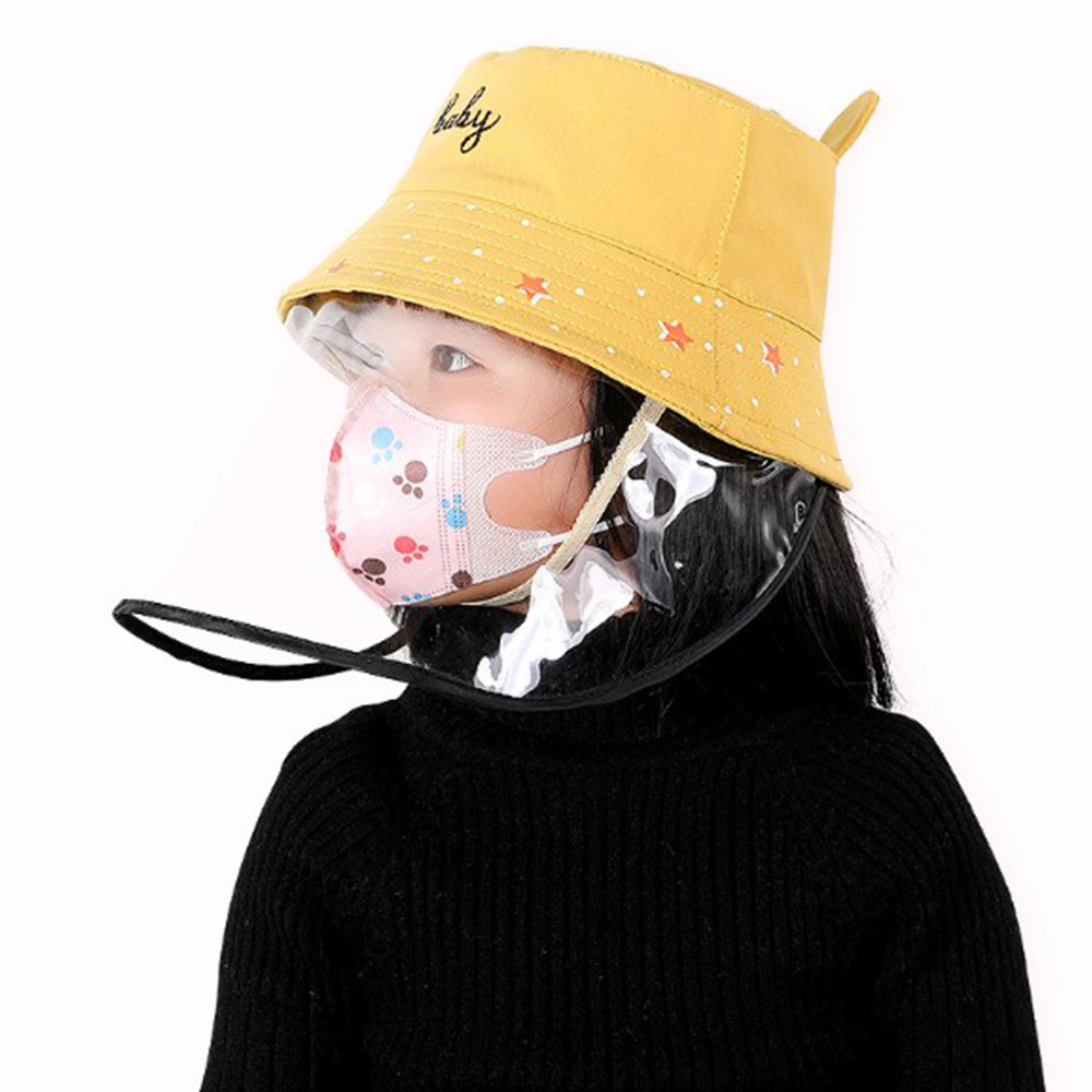 Multifunctional New Protect Mask Hat Polyester + Pvc Mask Dust Cover Full Face Eyes Cap With PVC Face Cover