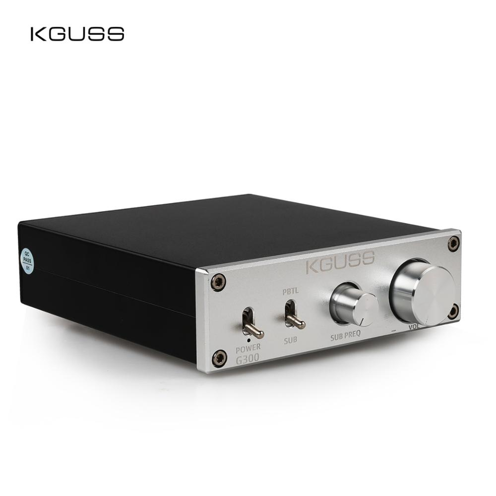 KGUSS G300 <font><b>HIFI</b></font> Class D Subwoofer audio <font><b>Amplifier</b></font> 300W AMP Bass Treble Adjust image