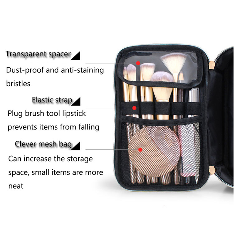 2020 New Travel Bag Cosmetics Toiletry Bag Organizer Waterproof Makeup Beauty Case Women portable large capacity storage pouch