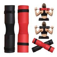 45*10CM Schaum Barbell Pad Abdeckung Für Gym Gewichtheben Gepolsterten Squat Schulter Zurück Support Neck & Schulter schutz Pad