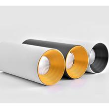 Oprawy LED oprawy sufitowe lampy naścienne typu Downlight COB 7W 12W oprawy sufitowe oprawy punktowe 220V oprawy oświetleniowe tanie tanio optilies 90-260 v zhitongdeng Aluminium Foyer