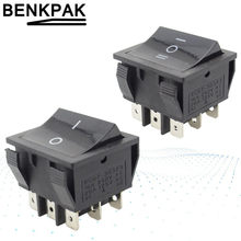 9 pinos rocker switch on-off-on/on-off
