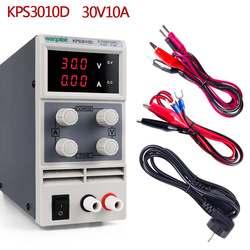 30 V 10A DC Lab Voeding LED Display Verstelbare Schakelaar Laptop Reparatie Rework Power Sourc 120V 60V Voeding Pc 5A 3A
