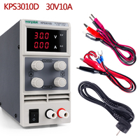 30 V 10A DC Lab Power Supply Unit LED Display Adjustable Switch Laptop Repair Rework Power Sourc 120V 60V Power Supply Pc 5A 3A