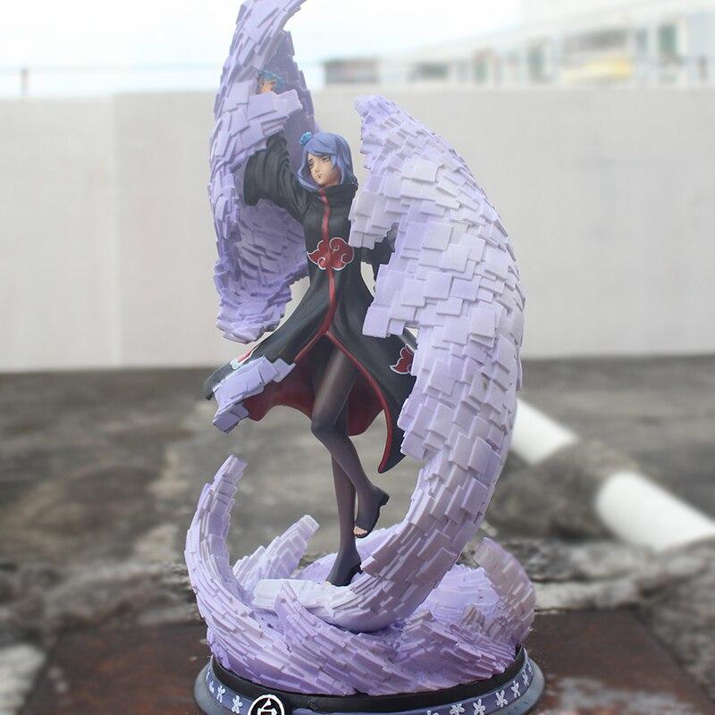 Anime Naruto Shippuden Angel Konan PVC Action Figure Collect Figurine Toy Gift