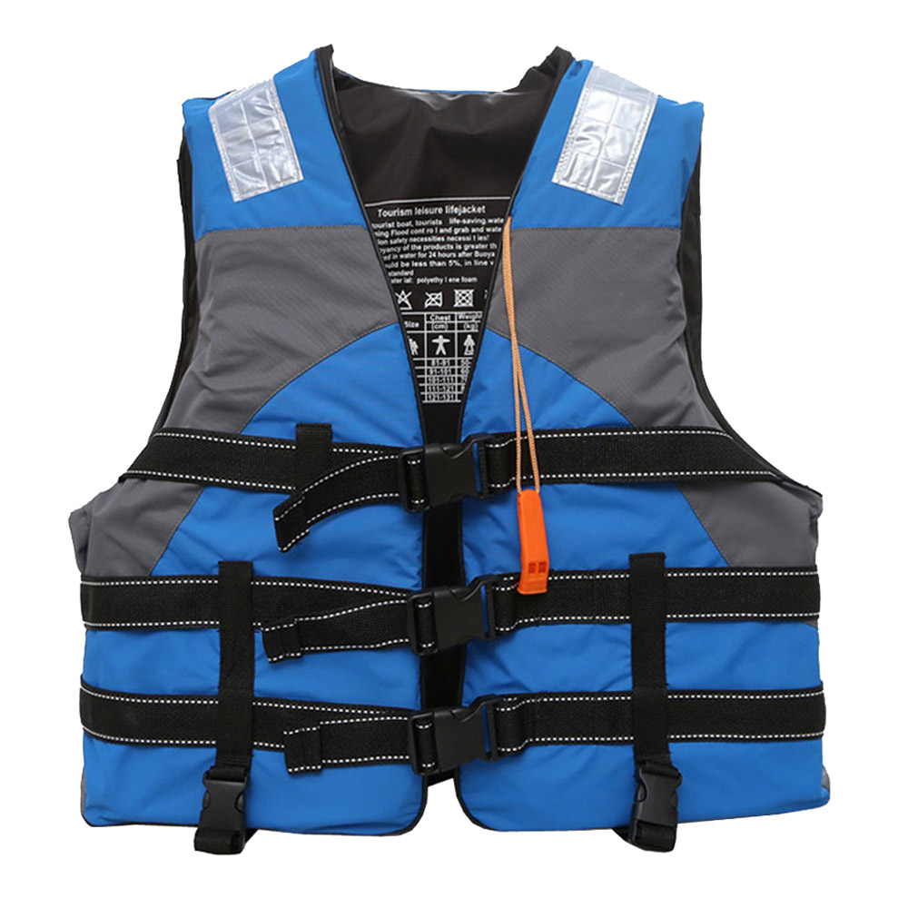 Outdoor rafting M-XXL Size life jacket children and adult swimming snorkeling wear fishing suit Professional drifting level suit