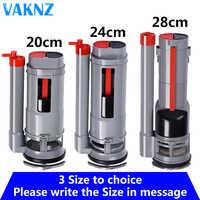 Toilet Flush Repair Kit Push Button Valve Dual Flush valve Suitable for one-piece toilet tank