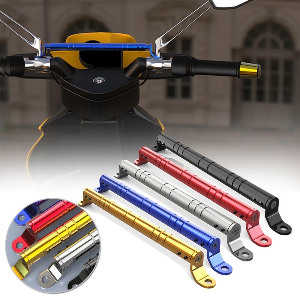 New Motorcycle Balance Bar Refit Parts Mobile Phone Bracket Handlebar CNC Mirror Balance Bar Multi-Function Adjust