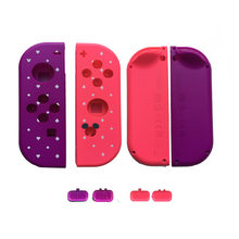 Funda Edición Limitada Joy Con Shell para niendo switch NS JoyCon Joy Con controlador SR SL botones Mickey Animal Crossing caso(China)