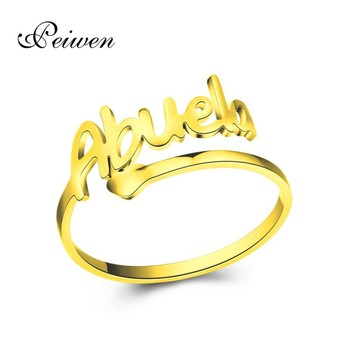 Stainless Steel Abuela Ring For Women Men Gold Silver Color Rings Cuff Open Ring Love Heart Grandma Fashion Jewelry For Birthday image