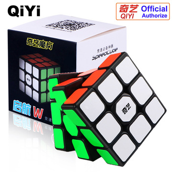 QiYi Magic Cube Profissional 3x3x3 Speed Cube Puzzle Cubo Magico Kubus Neo Cubo Educational Toys for Children Rubic Cube carbon fiber sticker speed 3x3x3 magic magico rubik s cube fidget cube magico educational brain teaser toys for children adult