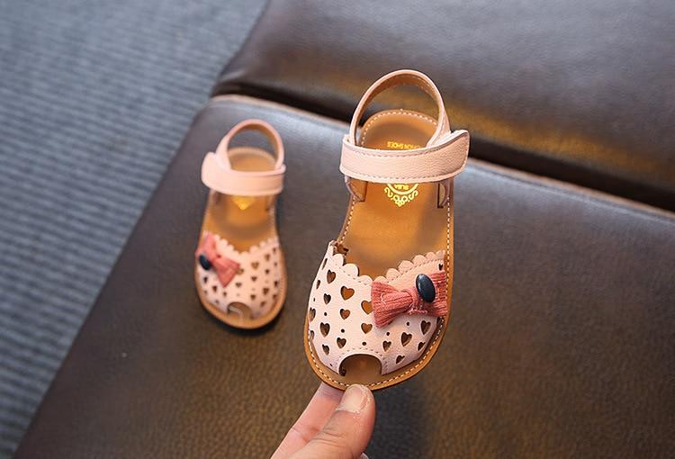 Meninas Sapatos Tendão Fundo Macio das Crianças