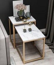 Железный диван боковой столик кофейный железная рамка черного