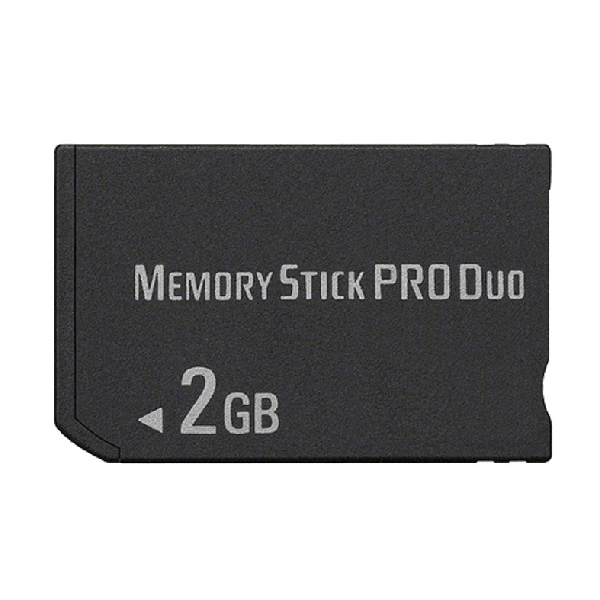 OSTENT 2GB MS Memory Stick Pro Duo Card Storage for Sony PSP 1000/2000/3000 Game image