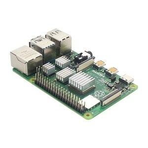 Image 2 - Raspberry pi 4 modelo b kit 2gb/4gb placa ram + dissipador de calor caso 32/64 cartão sd cabo hdmi fonte de alimentação para raspberry pi 4b