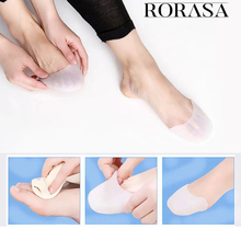 Silicone Gel Protective Toe Sleeve 1pair Fashion NEW Toe Protector Toe Support Ballet Shoe Covers High Heels Pointed Toes Set stiletto pointed toe pu heels