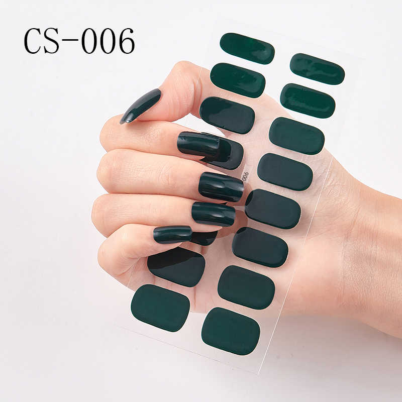 Mieszane kolor naklejka do paznokci okłady kalkomanie Manicure samoprzylepne naklejane ozdoby do paznokci naklejki na paznokcie prawdziwe polskie paski Drop Shipping